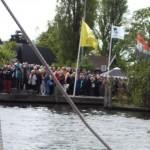 Opening brug naar Koudenhoorn 15 mei 2013 050