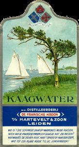 kaagwater-etiket